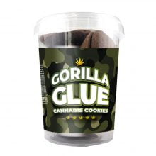 Gorilla Glue Cannabis Cookies THC Free 150g (24boxes/masterbox)