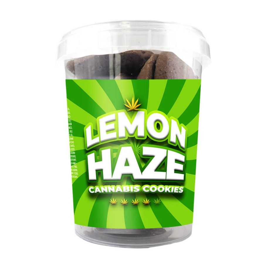 Lemon Haze Cannabis Cookies THC Free 150g (24boxes/masterbox)