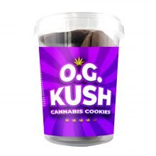 OG Kush Cannabis Cookies THC Free 150g (24boxes/masterbox)