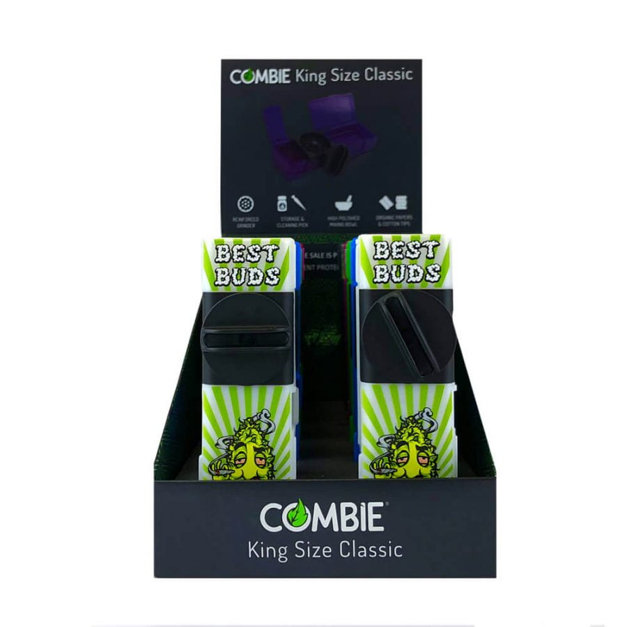 Combie™ All-In-One pocket grinder - Best Buds Special Edition (10pcs/display)