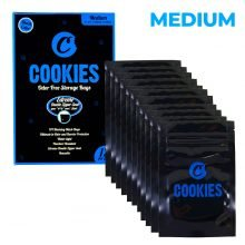 Cookies Ziplock Smell Proof Bag Medium (12pcs)