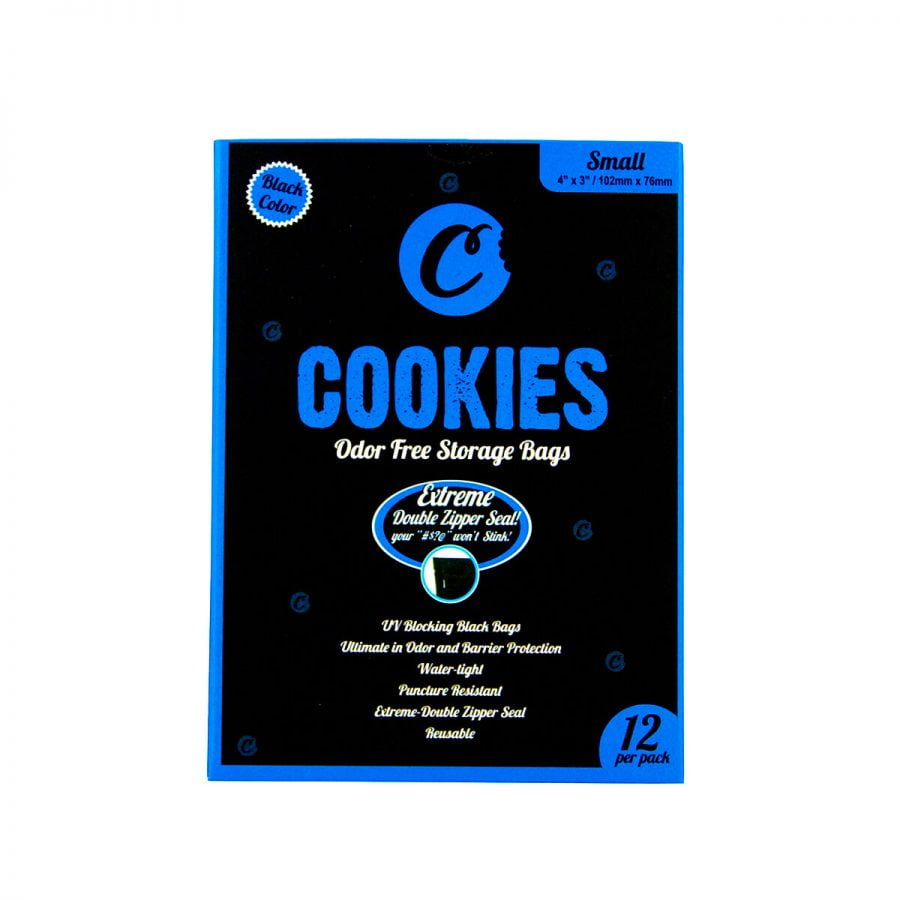 Cookies Ziplock Smell Proof Bag Small (12pcs)