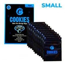 Cookies Ziplock Smell Proof Bag Small (12pcs)
