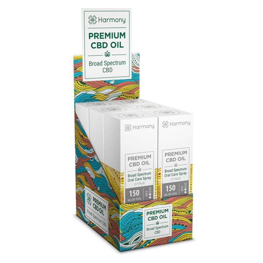 Harmony Citrus CBD Spray 150mg (15ml)