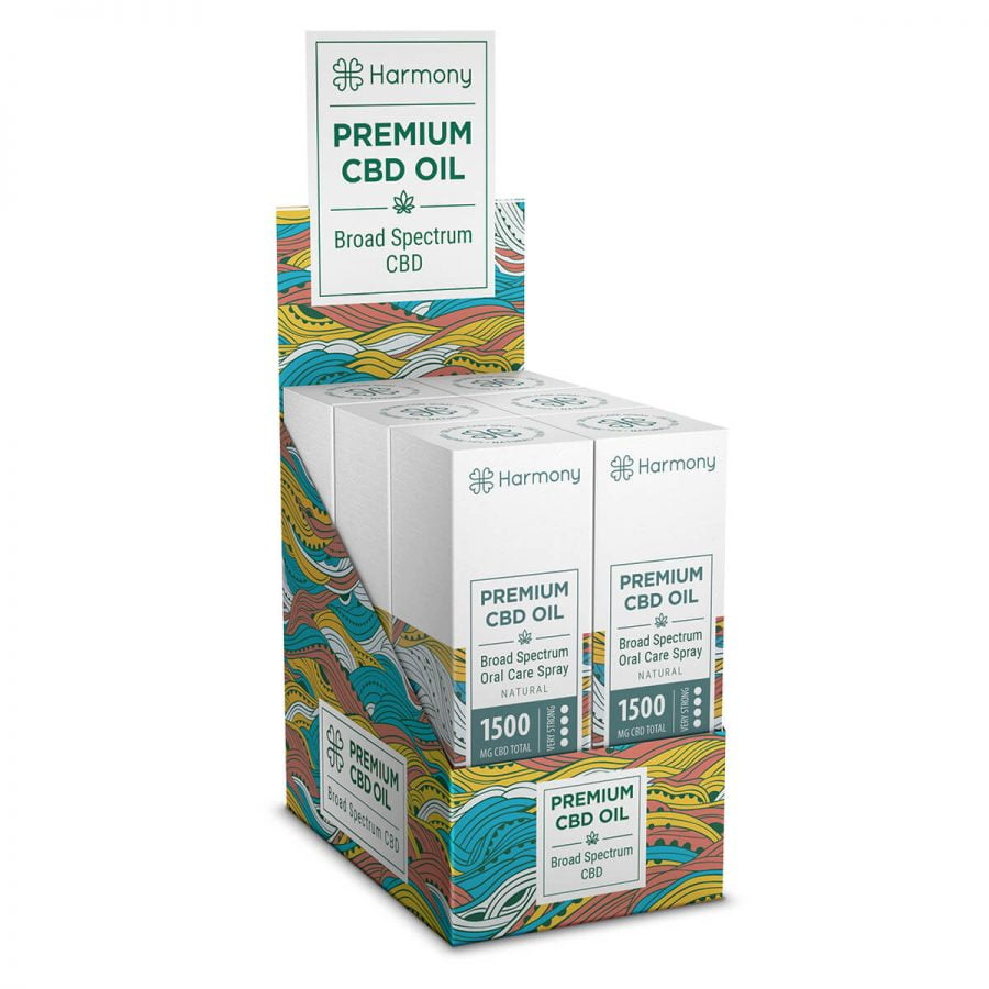 Harmony Natural CBD Spray 1500mg (15ml)