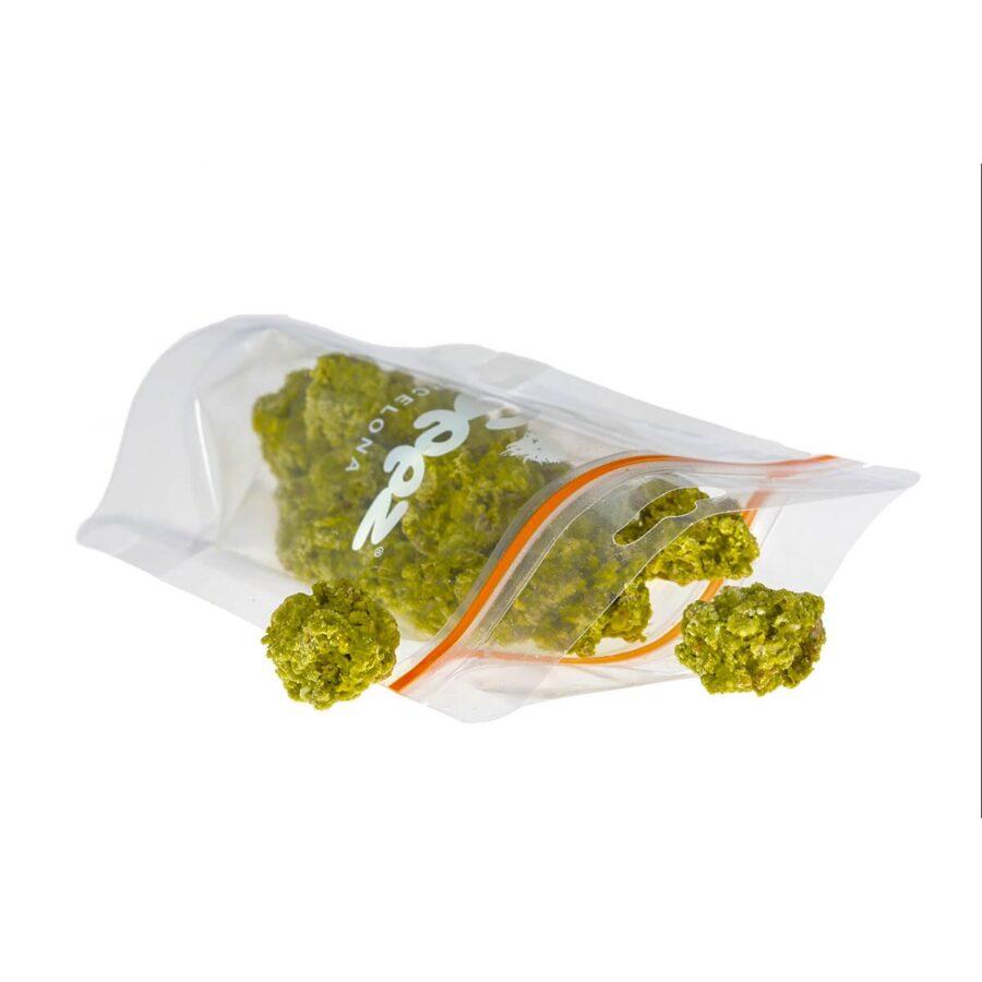 Ogeez Krunchbox Cannabis Shaped Chocolate 6 Bags Candies THC Free (6x50g)