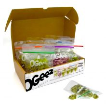 Ogeez Krunchbox Cannabis Shaped Chocolate 6 Bags Candies THC Free (6x50g)