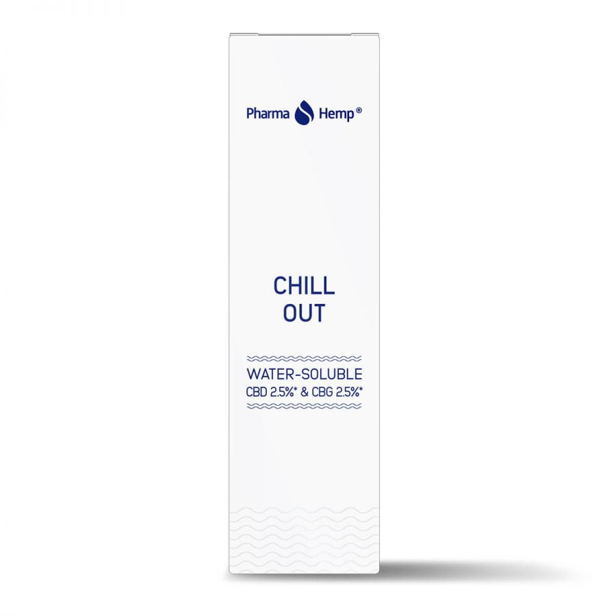 Pharma Hemp Chill Out Water Soluble CBD 2.5% and CBG 2.5%