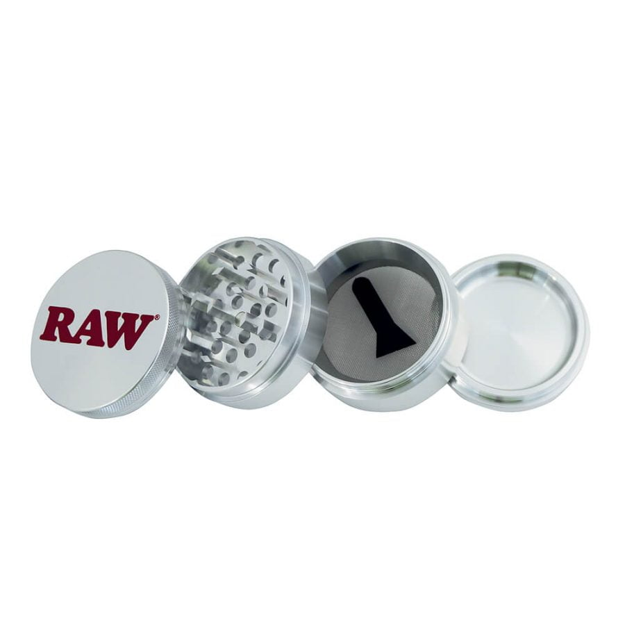 RAW Original Metal Grinder 4 parts - 56mm + Giftbox