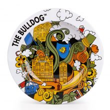 The Bulldog Original City Life Metal Ashtray