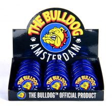 The Bulldog Original Blue Plastic Grinder 3 Parts - 60mm (12pcs/display)