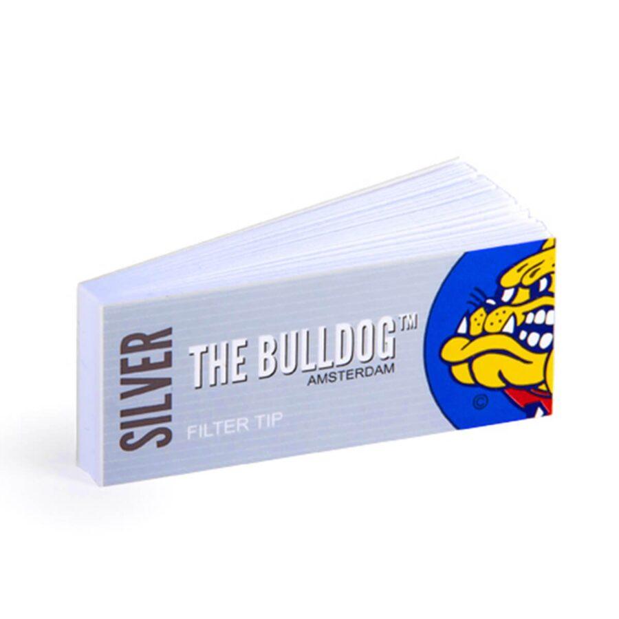 The Bulldog Original Silver Filter Tips (50pcs/display)