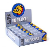 The Bulldog Original Silver Filter Tips (50pcs/display)