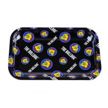The Bulldog Original Metal Rolling Tray Pattern Medium