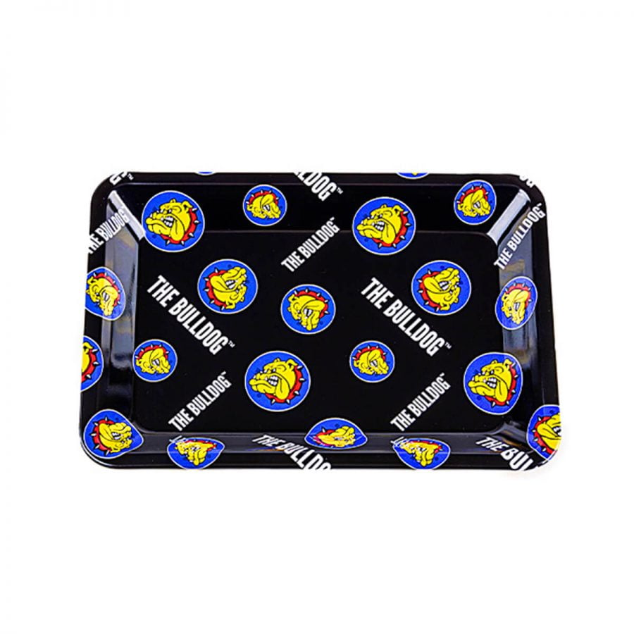 The Bulldog Original Metal Rolling Tray Pattern Small