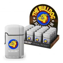 The Bulldog Original Torch Windproof Lighter Grey (20pcs/display)