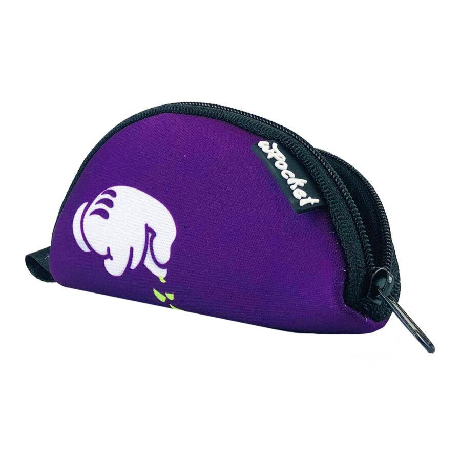 wPocket - Purple mickey portable rolling tray