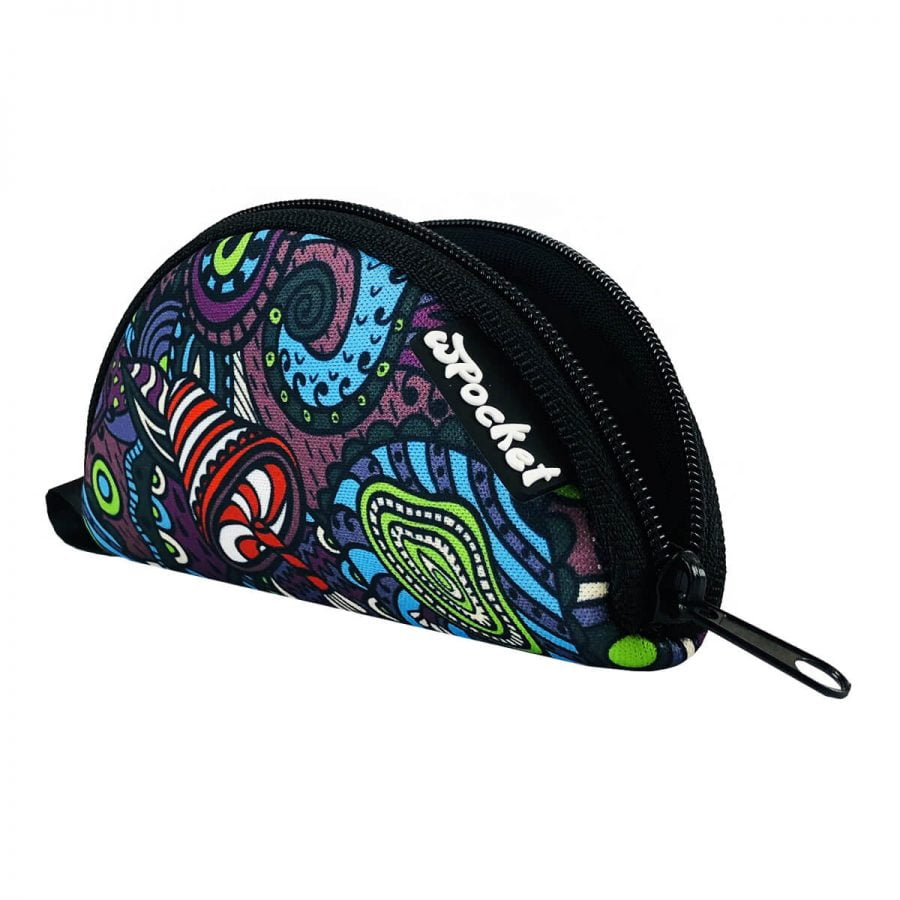 wPocket - Psychedelic portable rolling tray