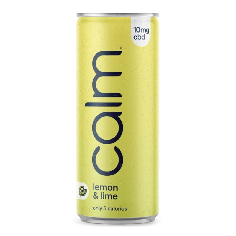 Calm Lemon & Lime 10mg CBD Sparkling Water 250ml (24cans/masterbox)