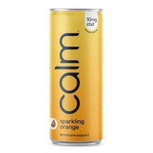Calm Orange Multi-Vitamin Immune 10mg CBD Sparkling Water 250ml (24cans/masterbox)