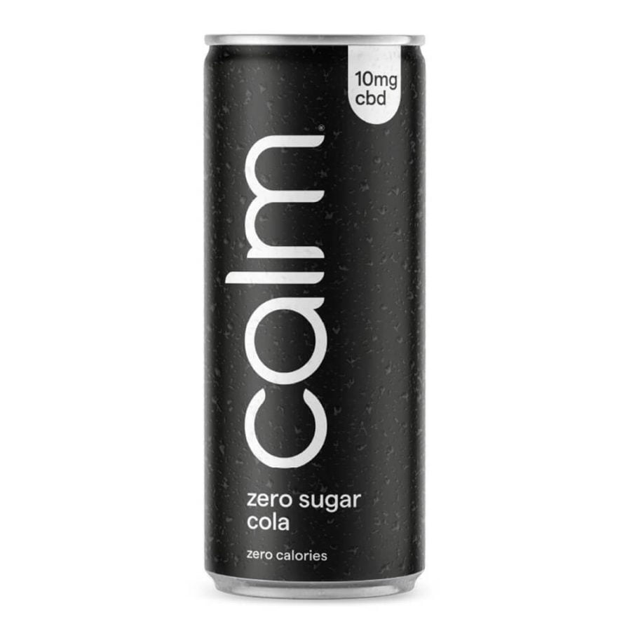 Calm Zero Sugar Cola 10mg CBD Sparkling Infused 250ml (24cans/masterbox)