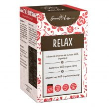 Green Life Organic Hemp Relax Tea (25bags/box)