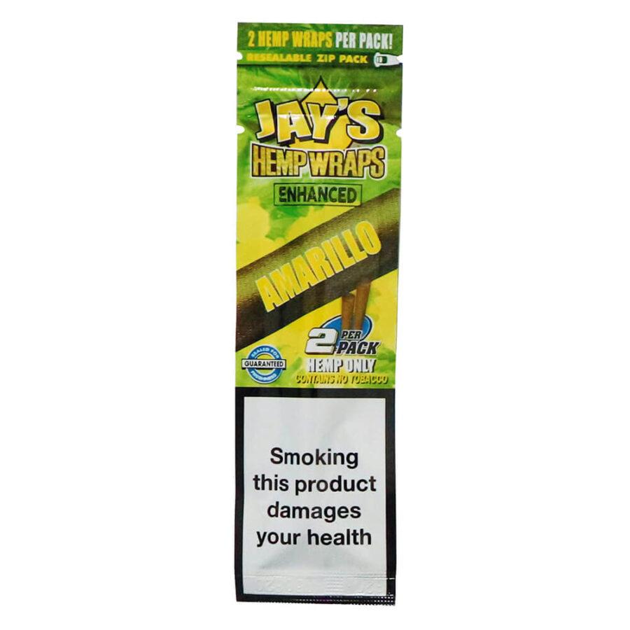 Juicy Jay's Hemp Wraps Amarillo Lemon Cake Infused with Terpenes (25pcs/display)