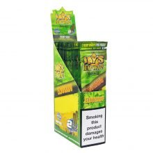 Juicy Jay's Hemp Wraps Eldorado Pineapple Shake with Infused Terpenes (25pcs/display)