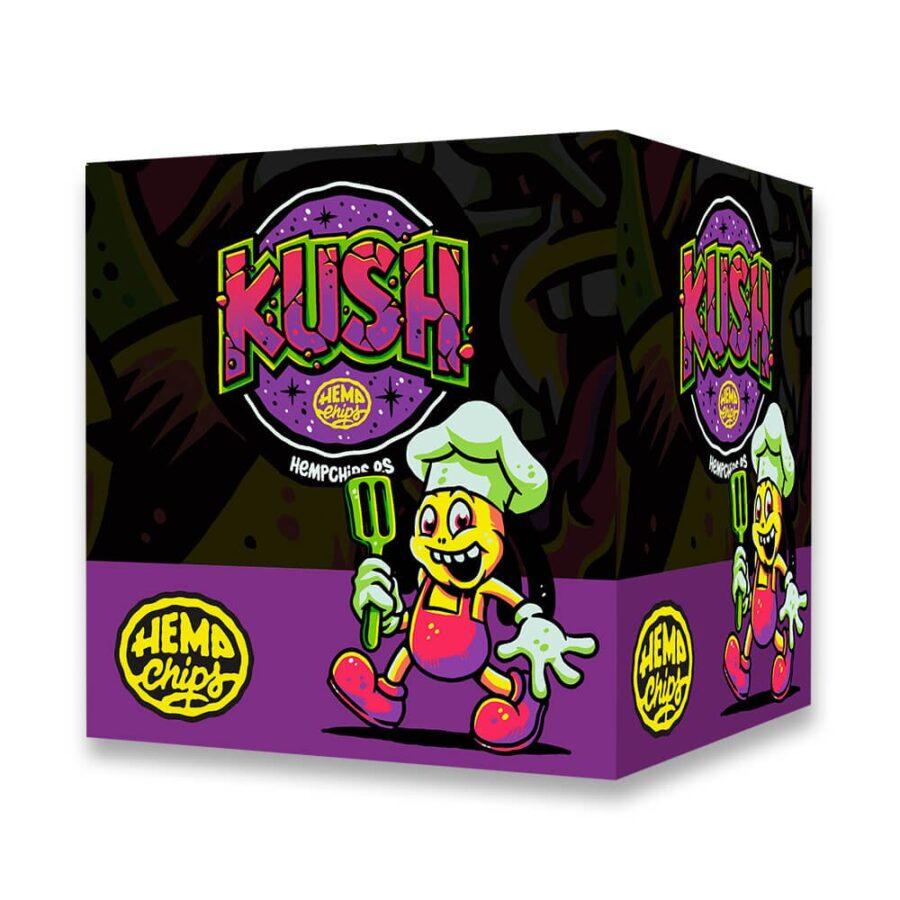 Hemp Chips Kush Artisanal Cannabis Chips THC Free (30x35g)