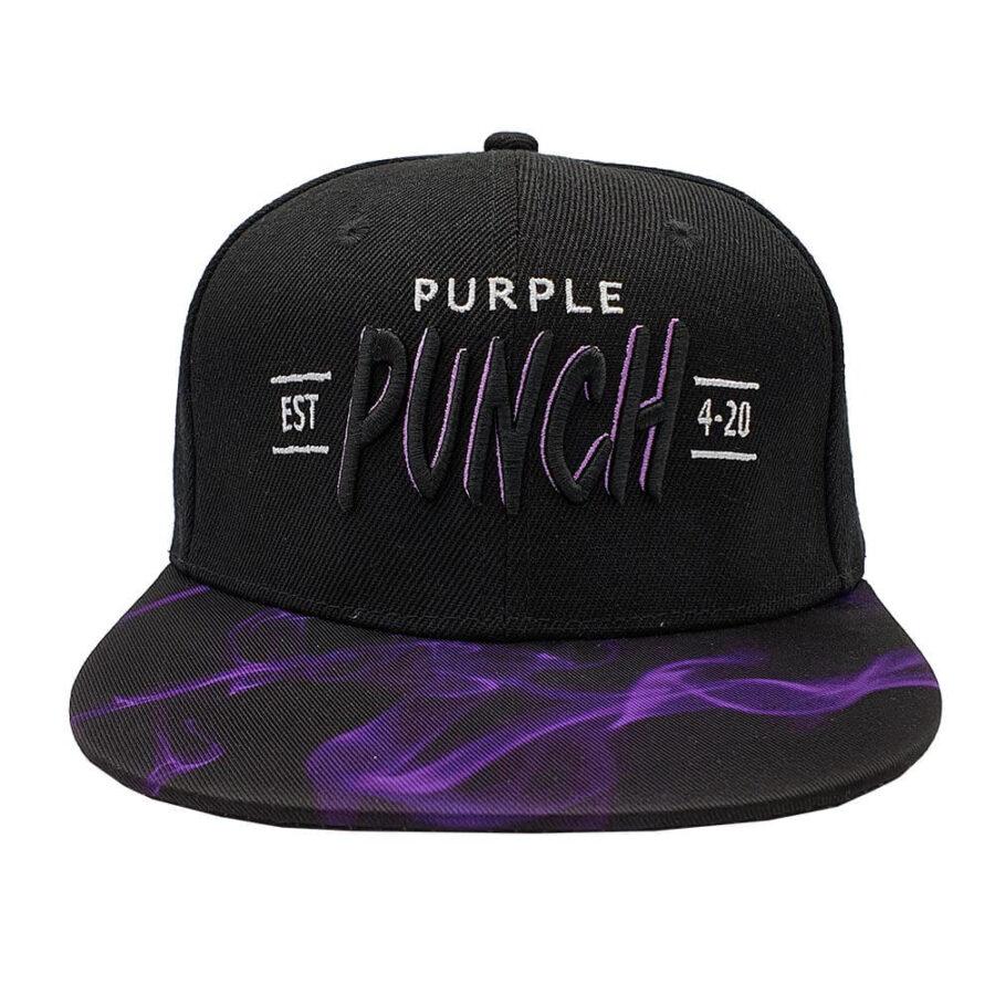 Lauren Rose - Purple Punch + Built-In Stash 420 Hat