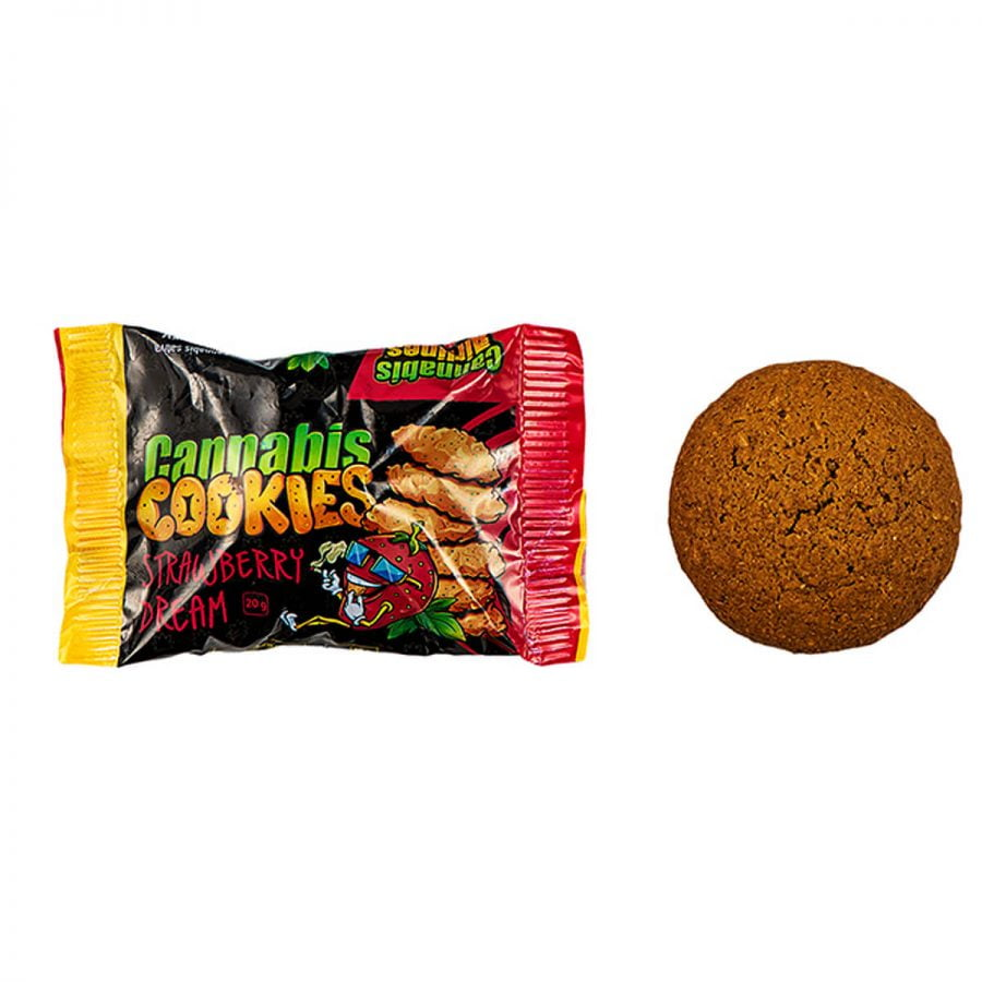 Cannabis Airlines Cannabis Cookies Strawberry Dream THC Free (14x120g)