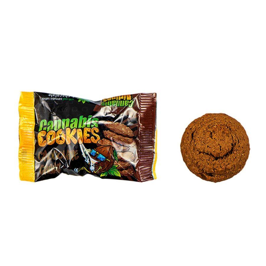 Cannabis Airlines Cannabis Cookies Jar Chocolate Chunk THC Free (400g)