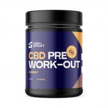 CBD Sport Pre Work-Out Cherry 300mg CBD (400g)