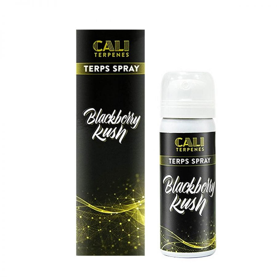CaliTerpenes Spray Terpenes Blackberry Haze (5ml)