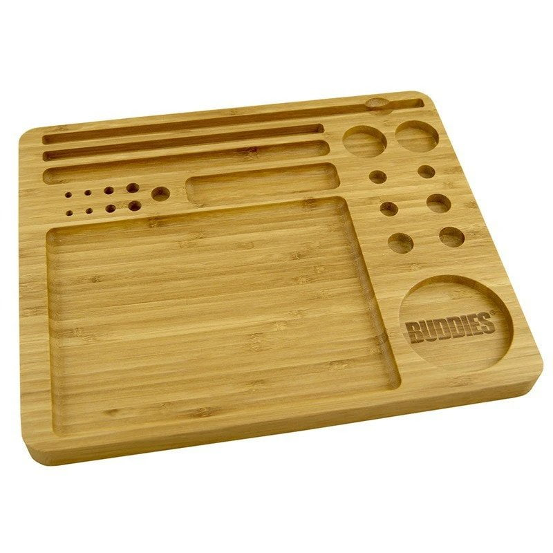 Buddies Tool Set 23-in-1 Bamboo Rolling Tray