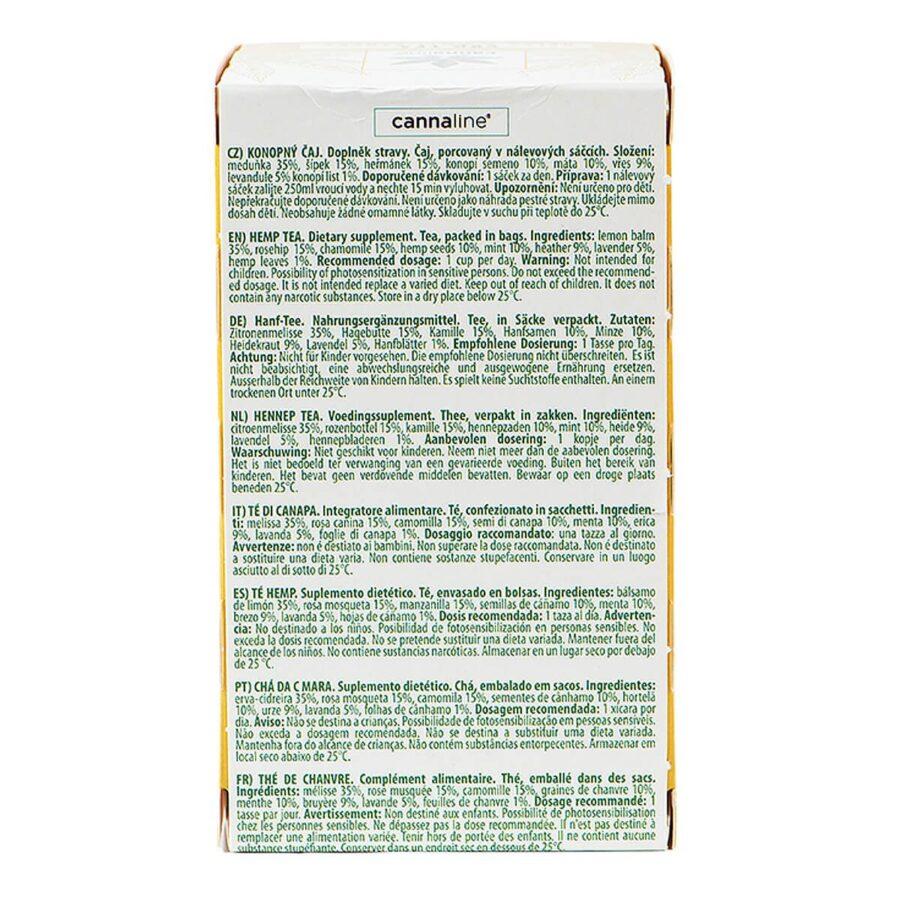 Cannaline CBD Hemp Tea Relax THC Free 30g (10packs/lot)