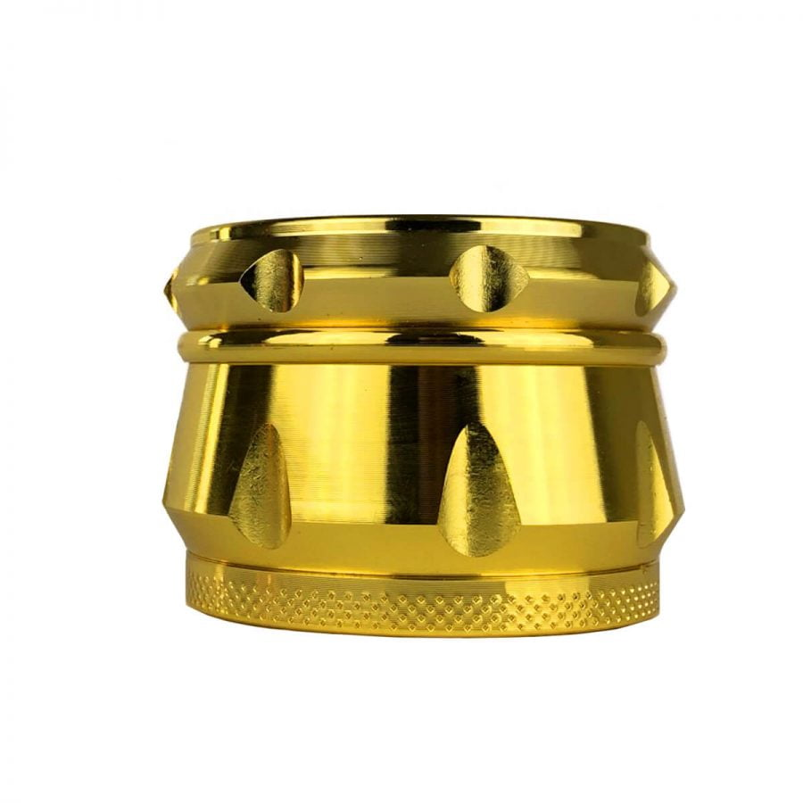 Metal Grinder Amsterdam XXX Gold 4 Parts - 55mm (12pcs/display)
