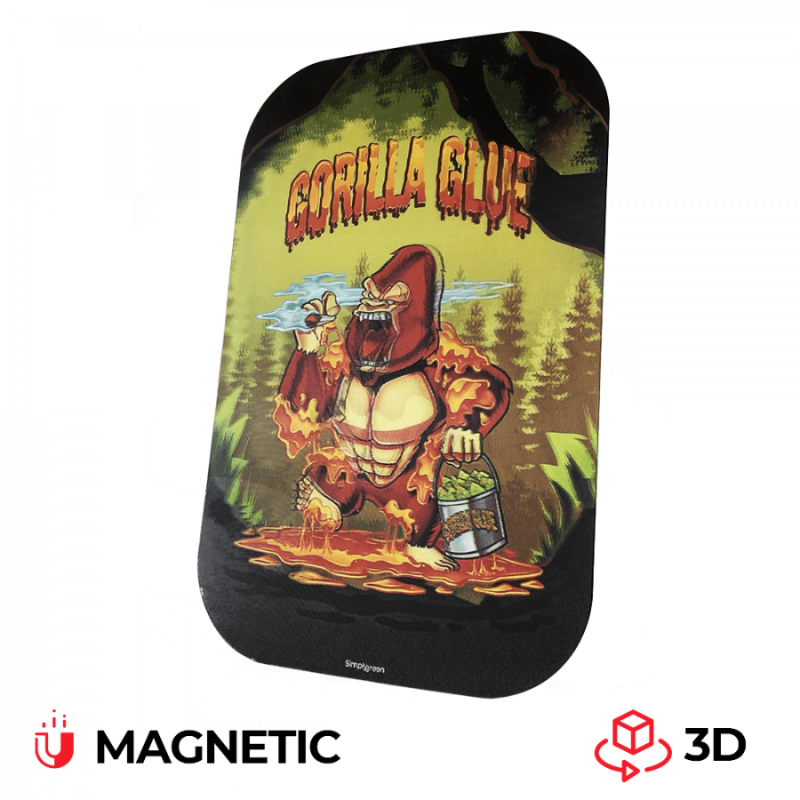 Best Buds Magnetic 3D Cover for Medium Rolling Tray Gorilla Glue