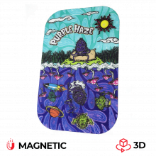 Best Buds Magnetic 3D Cover for Large Rolling Tray Purple Haze