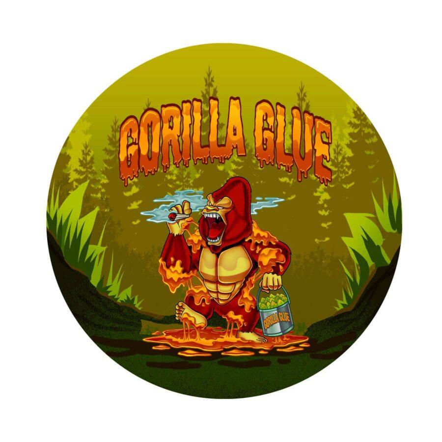Metal Grinder Best Buds Gorilla Glue 4 Parts - 50mm (12pcs/display)