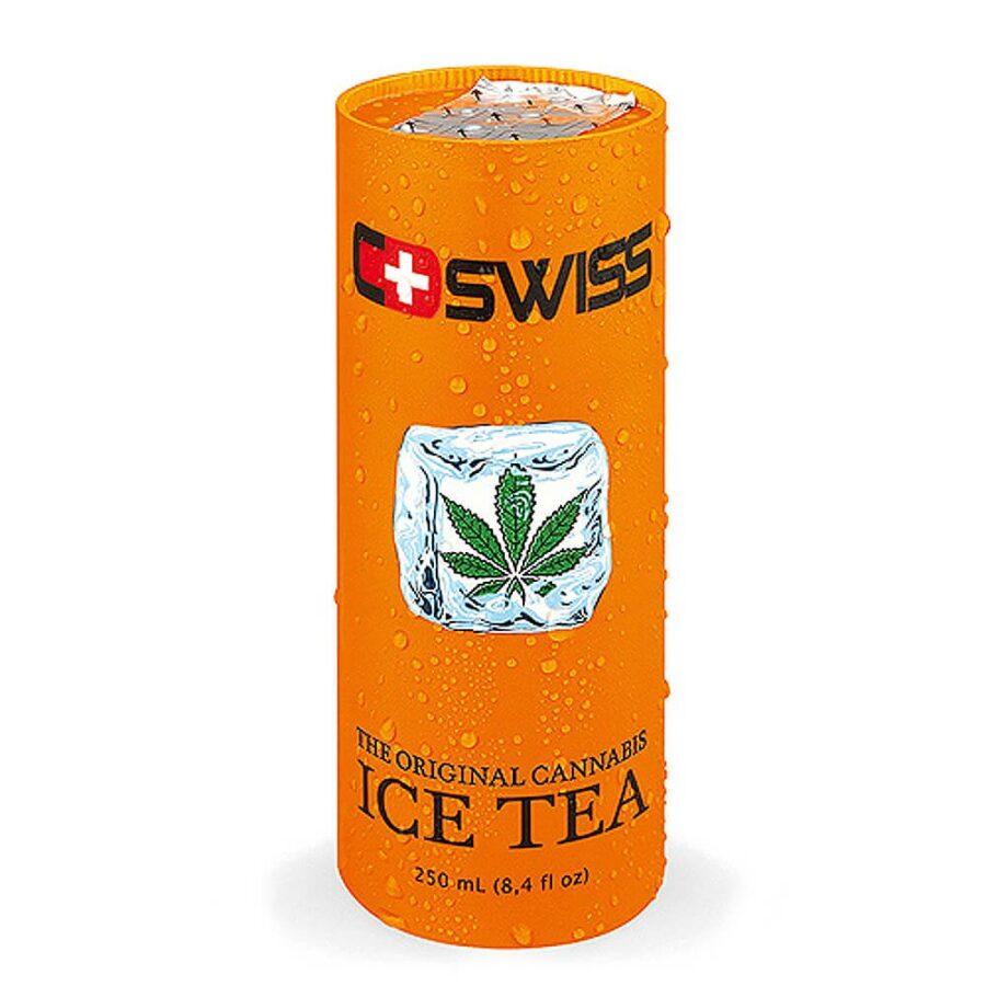 C-Swiss Cannabis Ice Tea THC Free 250ml (12cans/masterbox)