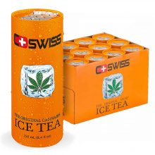 C-Swiss Cannabis Ice Tea THC Free 250ml (12cans/masterbox)