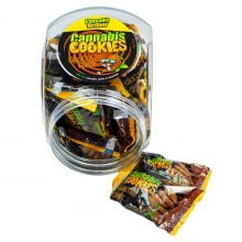 Cannabis Airlines Cannabis Cookies Jar Chocolate Chunk THC Free (400g)