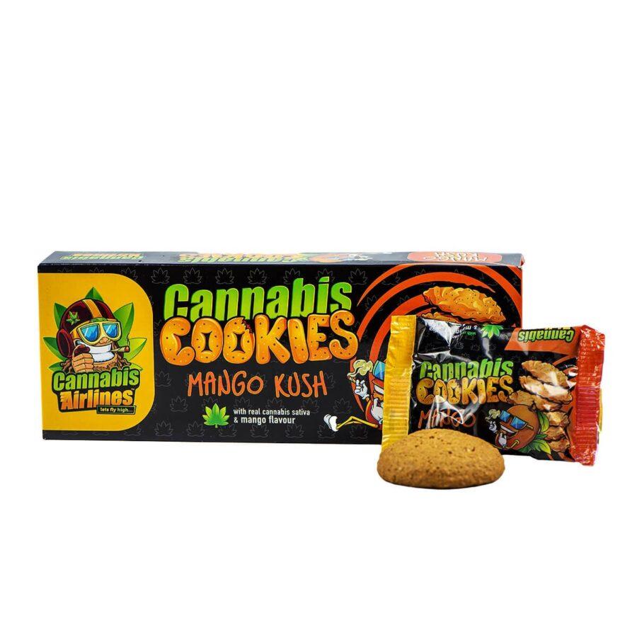 Cannabis Airlines Cannabis Cookies Mango Kush THC Free (14x120g)