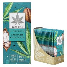 Cannaline Cannabis Dark Chocolate THC Free (20x80g)