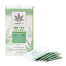 Cannaline CBD Hemp Tea Detox THC Free 30g (10packs/lot)