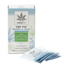 Cannaline CBD Hemp Tea Memory and Focus THC Free 30g (10packs/lot)