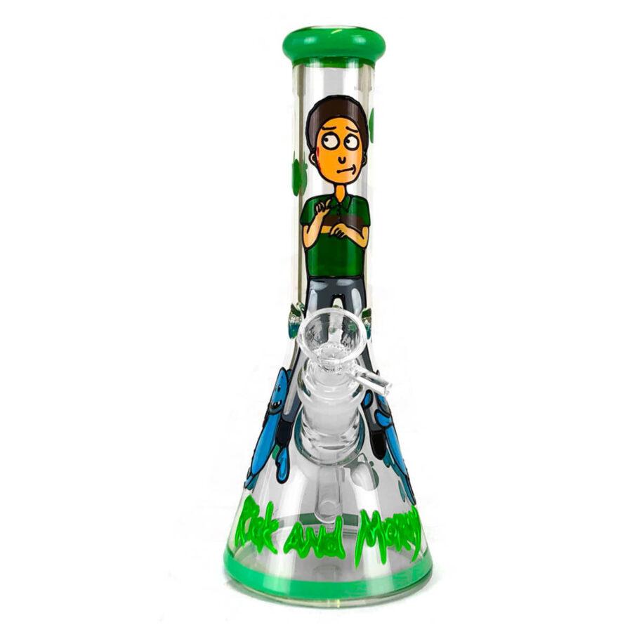 Cartoon Guy Handcrafted Glass Bong 25cm