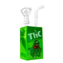 Juice Glass Bong Cartoon THC Frog 19cm