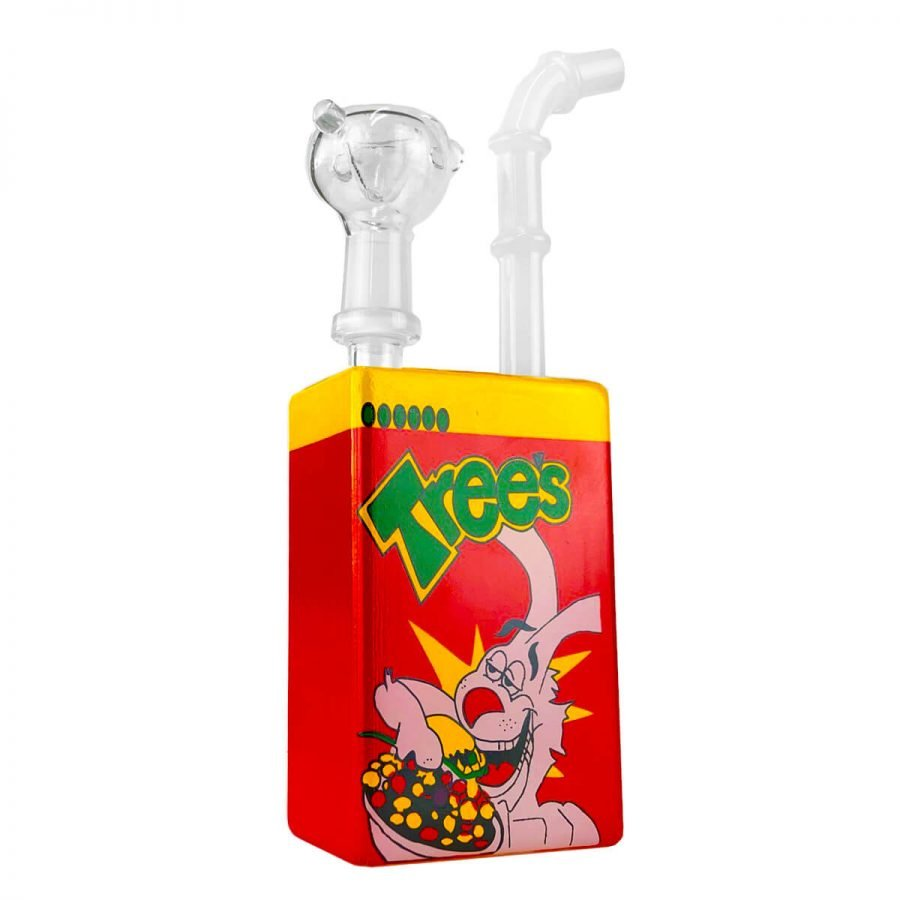 Juice Glass Bong Cartoon Rabbit Breakfast 19cm
